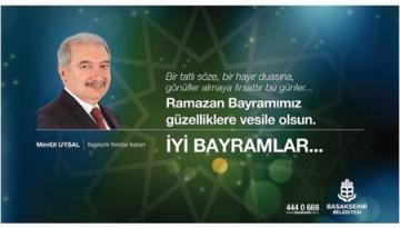 Mevlüt UYSAL Bayram mesajı yayınladı