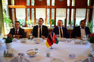B.Mönchengladbach ile Dostluk Yemeği