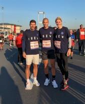 Gökhan İnler İstanbul Maratonu'nda İSEV için koştu