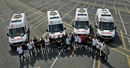 İstanbul'un ambulans sürücülerinin zorlu eğitimi