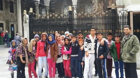 Bilgievi Öğrencileri 'Kısakürek' ve 'Canat'ı Andı