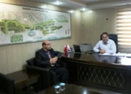 Mahmut Tan Boğaziçi Yönetim A.Ş yi Ziyaret Etti