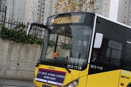 Başakşehir'de, Metro'ya ring seferleri başladı