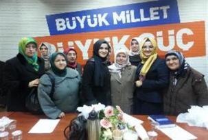 Ak Parti Başakşehir Kadın Kollarında Devir Teslim Heyecanı