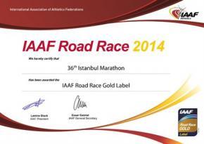 İstanbul Maratonu 3. Kez Altın Kategorisinde!