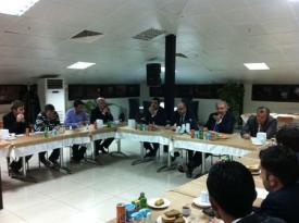 Kayaşehir'de ki projelerle ilgili Başakşehir belediye başkanı ile buluşuldu