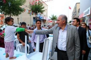 Güvercintepe'de 16 Bin kişilik dev iftar