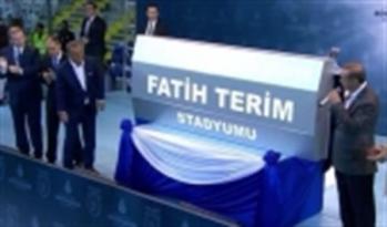 Başakşehir Fatih Terim Stadı Açıldı