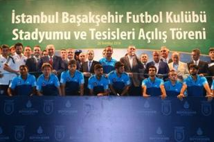 Başbakan Erdoğan, Başakşehir'in stadını açtı