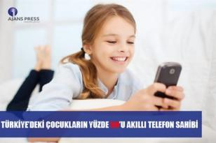 TÜRKİYE'deki Çocukların Yüzde 59'u Akıllı Telefon Sahibi