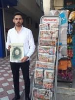 Bilge Türk Dergisi Başakşehir'de Bayilerde