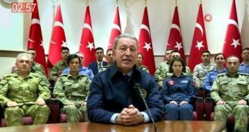 Milli Savunma Bakanı Akar, 2019 yılını özetledi