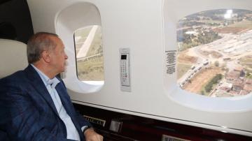 Başkan Erdoğan Başakşehir Şehir Hastanesini inceledi