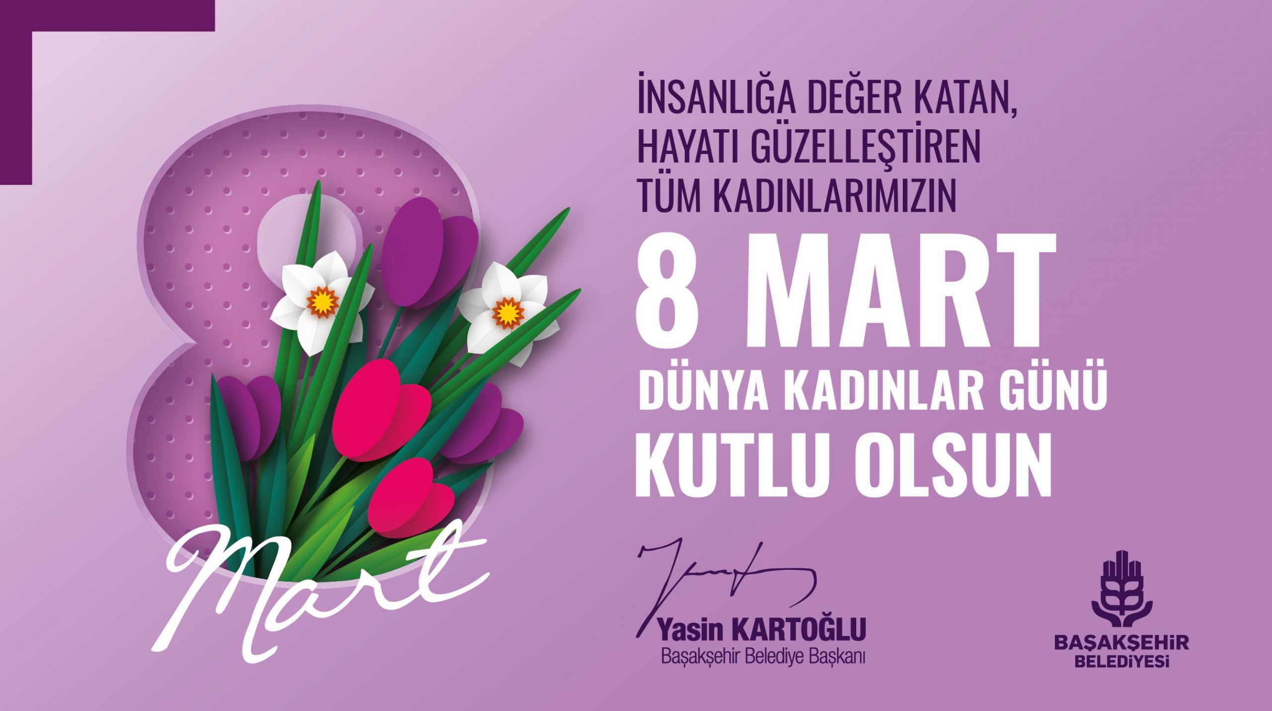 BAŞKAN KARTOĞLU'NDAN 8 MART'A ÖZEL ANLAMLI VİDEO