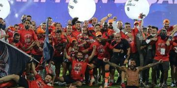 Süper Lig'in şampiyonu Medipol Başakşehir