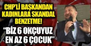 CHP Başakşehir İlçe Başkanı Deniz Bakır: CHP'li kadınlar bereketlidir, sizden en az 6 çocuk bekliyorum