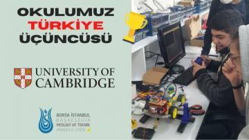Piwars Yarışmasında Türkiye Üçüncüsü Olduk