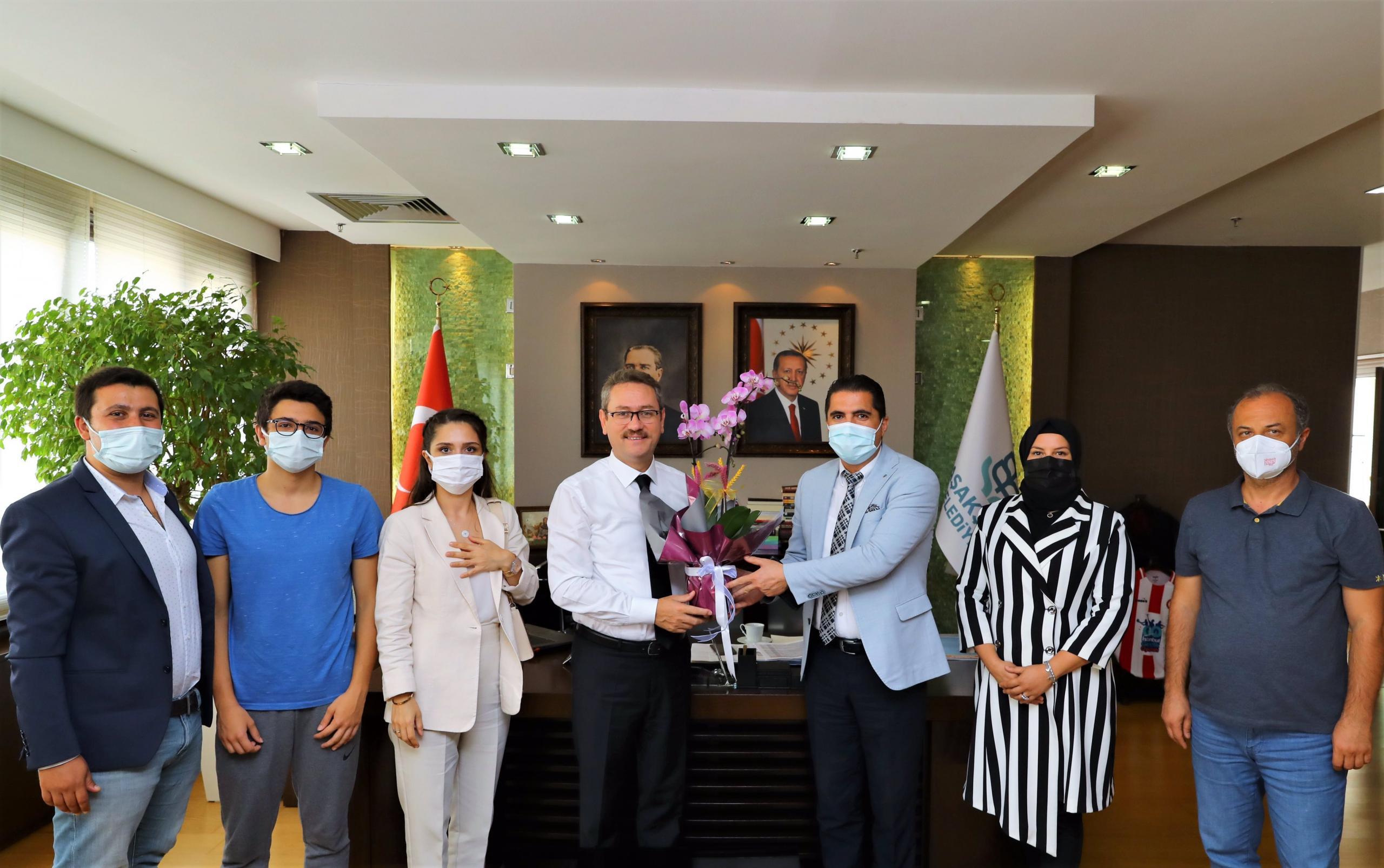 LGS Türkiye birincisi Eren Şahin Başakşehir Belediyesinde