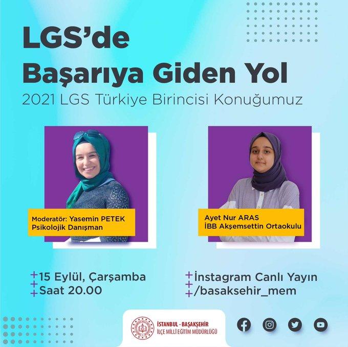 LGS'de Başarıya Giden Yol Canlı Yayını