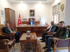 MHP İlçe Başkanından Müftümüze Ziyaret