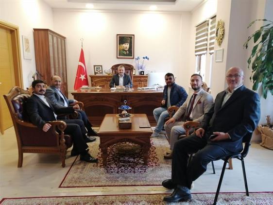 Yeniden Refah Partisi Başakşehir'den Başakşehir Müftüsüne Ziyaret